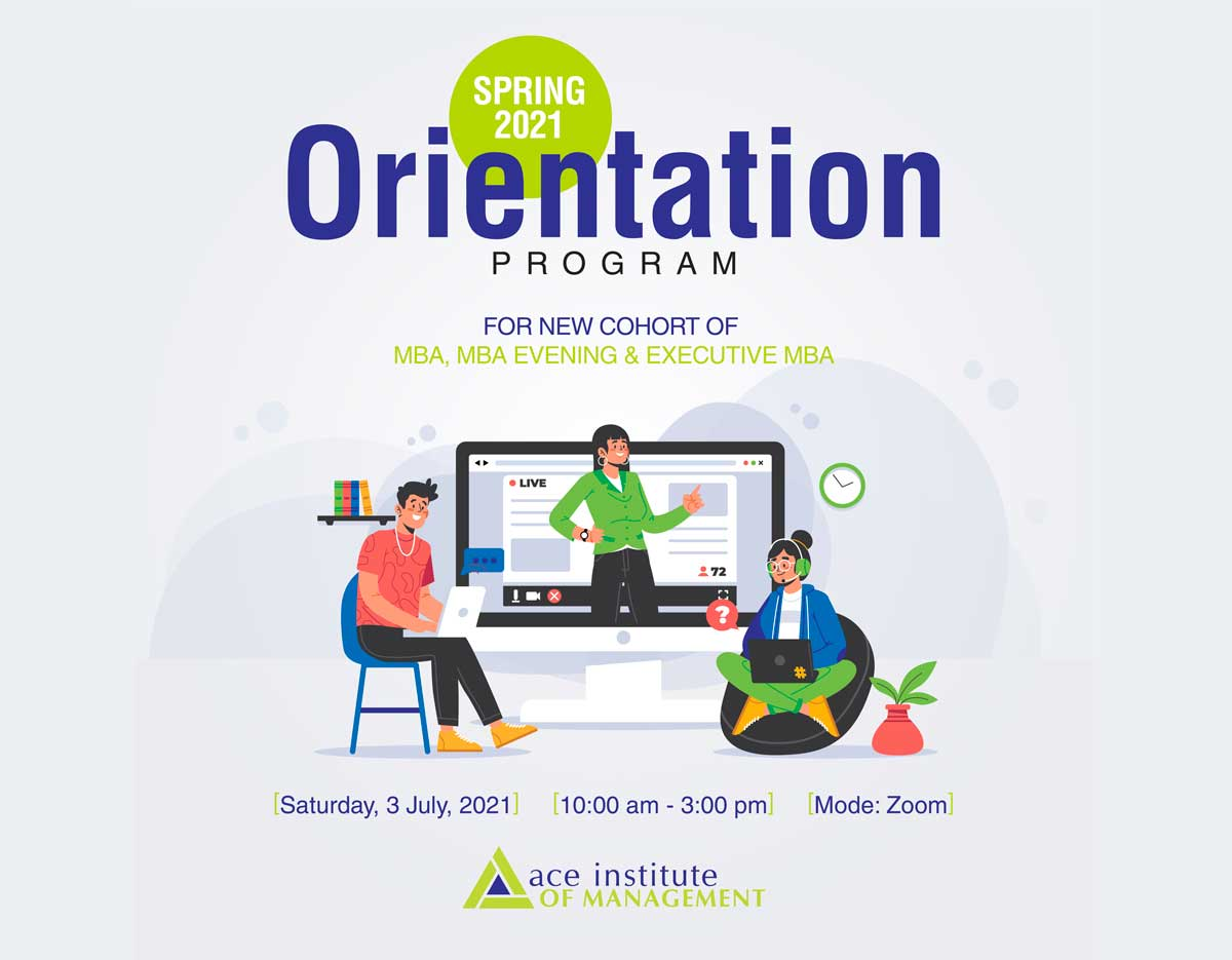 Orientation for Spring Intake 2021