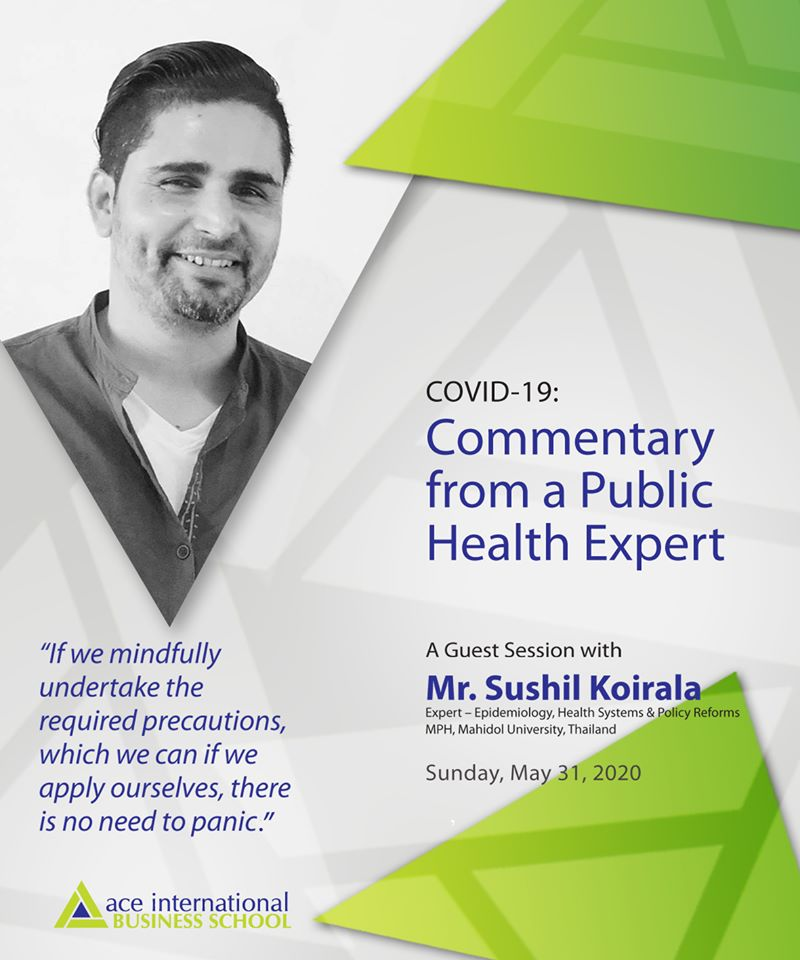 """Covid-19: Commentary from a Public Health Expert"""